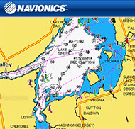 Lake Simcoe Depth Map Navionics