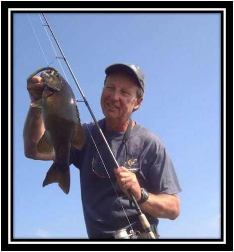 Wil Wegman with bass from Olive Lake