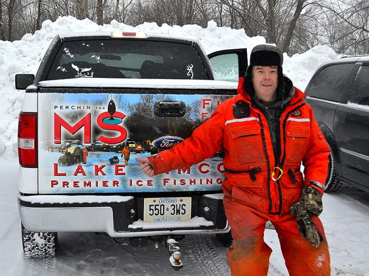 Perching for MS 2014 Results - Over 460 people Ice Fish  to End MS