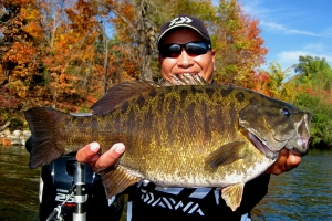 Dave Chong Lands 8.02 Pound Smallmouth Bass